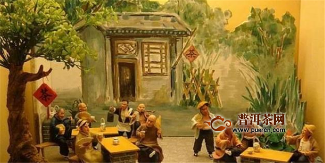 """中国独特的""""大碗茶""""文化"""