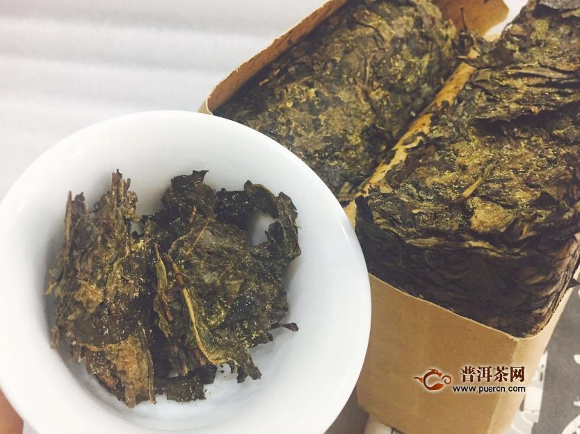 陕西茯茶哪个牌子好图片
