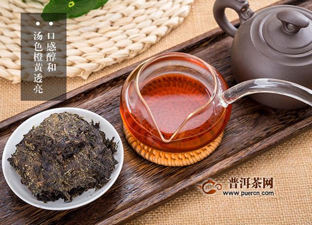 陕西泾阳黑茶有什么功效