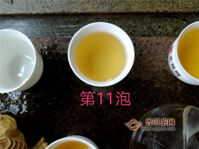 2018年龙园号匠心茶人:丰富的层次感,很显茶的韵味