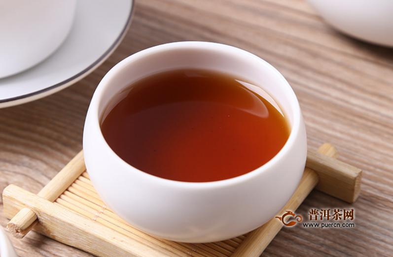 黑茶煮好有点中药味