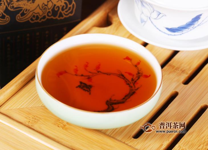 黑茶茶汤什么颜色好