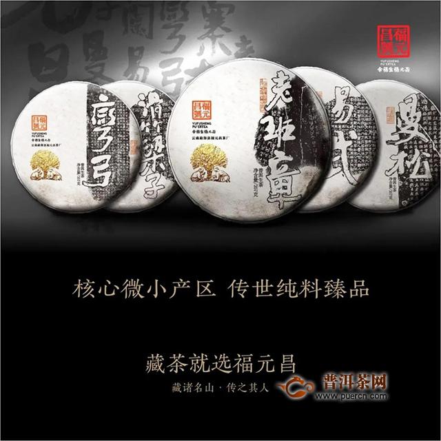 福元昌2020年春茶【书法系列】正式上市