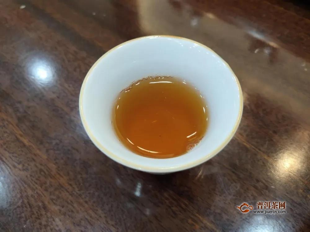 大益中期茶口粮评测:2006年7542