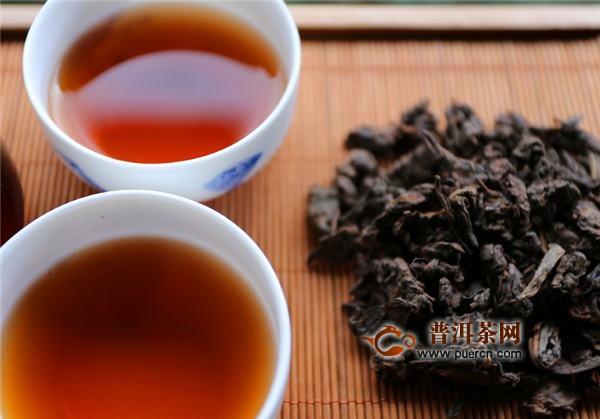 黑砖茶的原料及历史