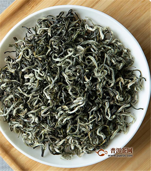 碧螺春和绿茶的品质特征不同