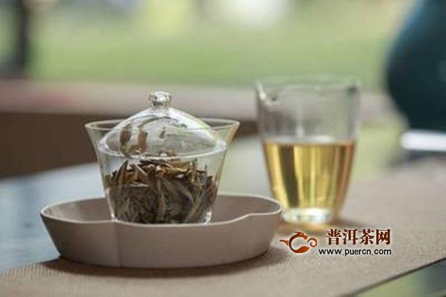 六大茶类的耐泡度情况