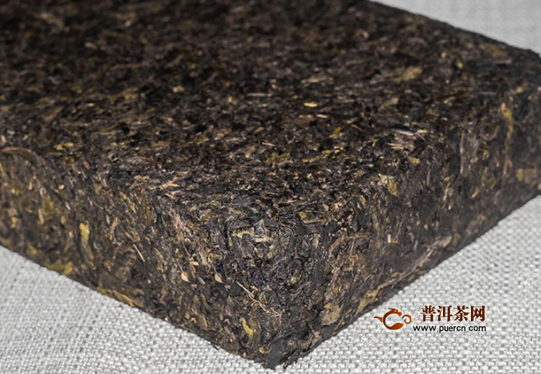 泾阳茯茶茶砖怎么剥开