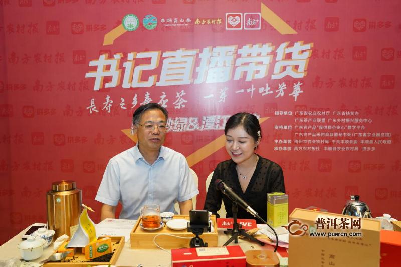 小茶叶搭乘新电商,丰顺县委书记拼多多带货引66万观众围观