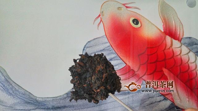 醇厚糯滑,优雅若雪藏梅:2019年洪普号雪藏熟茶