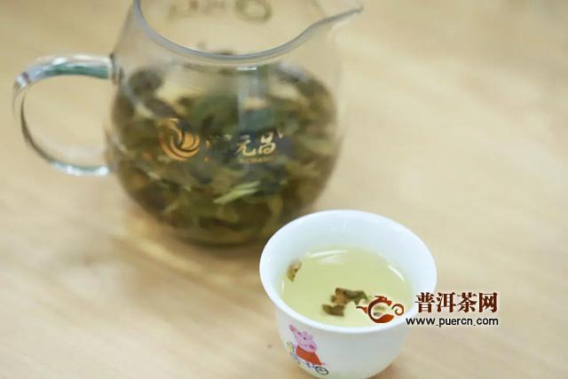 夏季炎热,冷泡一杯润元昌生茶