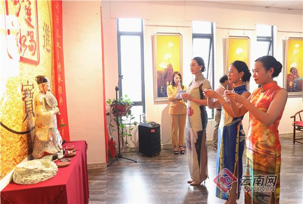 传承千年茶文化 普洱茶封茶仪式在昆明举行