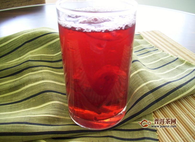 玫瑰洛神花茶怎么泡比较合理