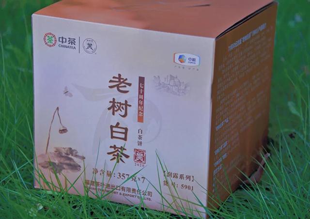 """2020中茶蝴蝶70周年专版""""老树白茶""""(5901)上市!"""