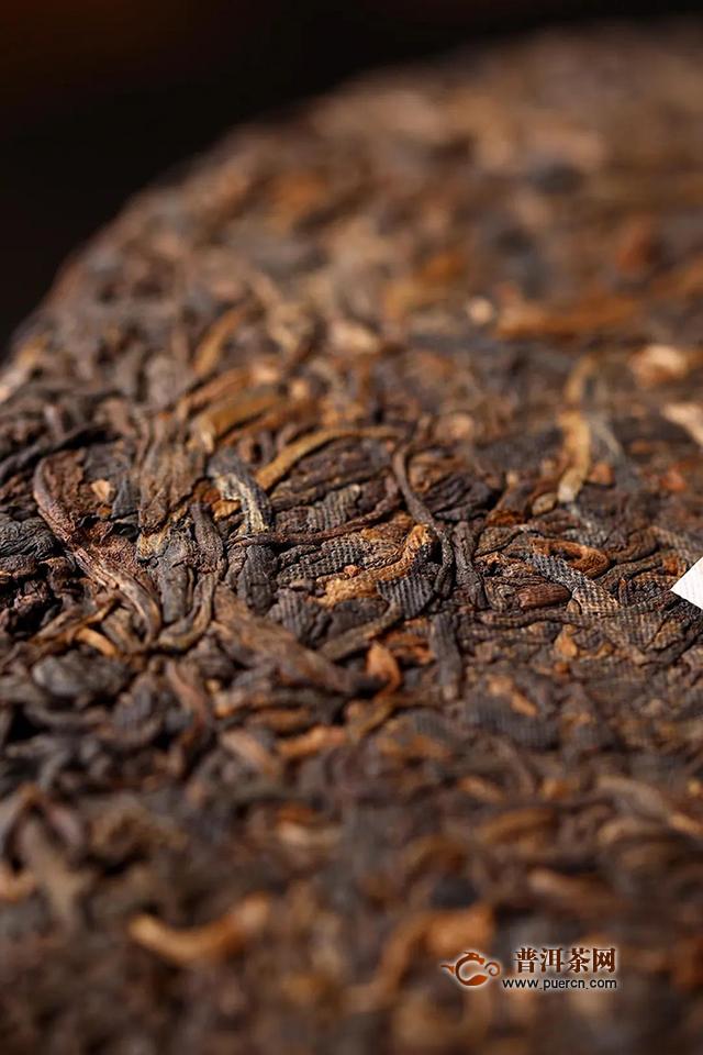 海湾茶业老同志2020年勐海原香