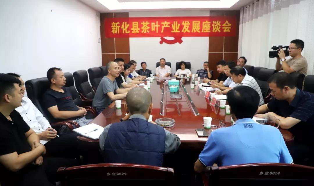 新化县召开茶叶产业发展座谈暨县茶叶协会第二次全体理事会