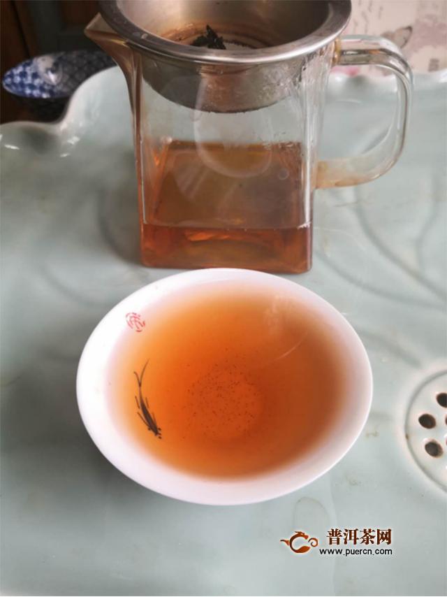 香气纯正,汤质醇厚:2019年洪普号雪藏熟茶品饮心得