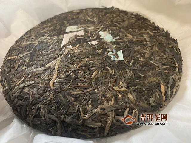 天赋恩赐:2020年兴海茶业天赋四星生茶