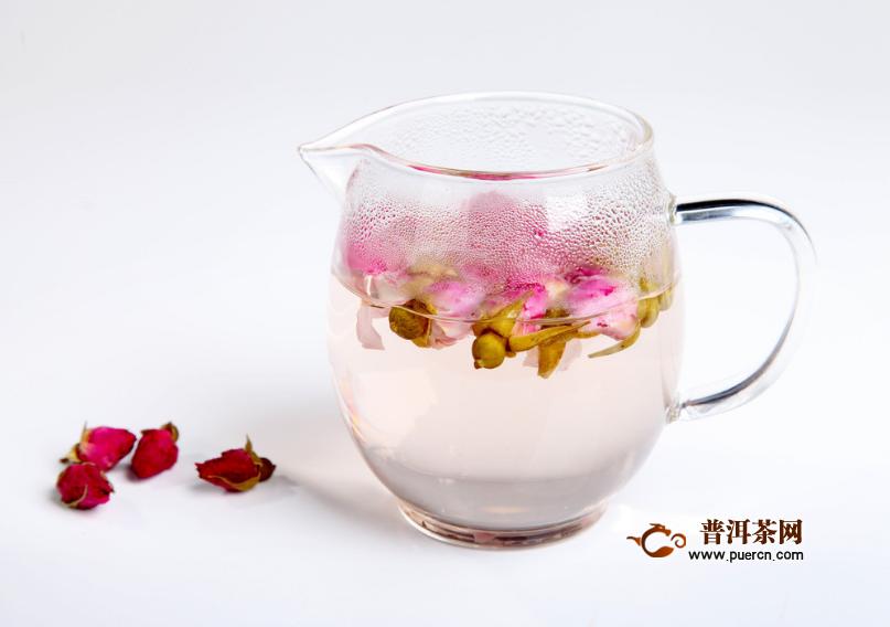 玫瑰花和什么泡茶饮用合适