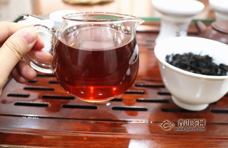 长期喝黑茶有什么功效图片