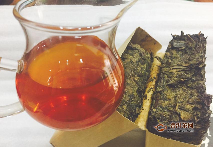 为什么安化黑茶有白色霉