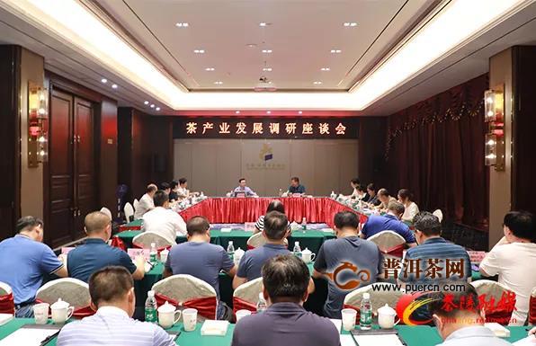 刘仲华到茶陵调研茶产业发展情况