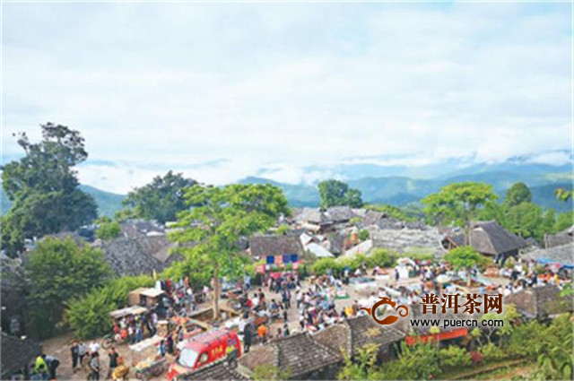 云南普洱景迈山:正在申遗的全球第一处茶文化景观