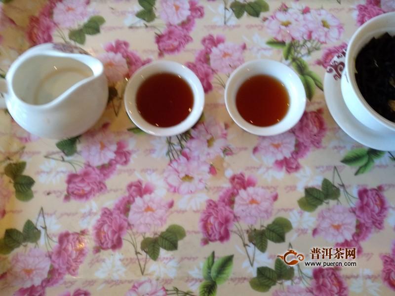 一款品质卓越的高端熟茶:2018年老爷说不将就贡菊龙珠单条 熟茶 试用报告