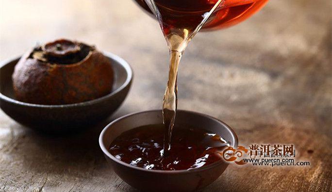 晚上喝小青柑茶好吗