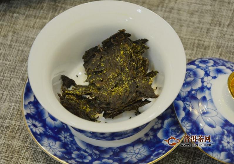 冲泡优质黑茶的方法
