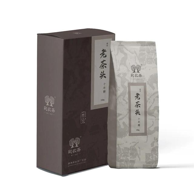 彩农茶 十年醇·老茶头,今日开始优惠预订