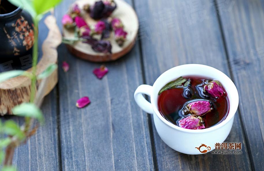 枸杞玫瑰花茶的作用与功效