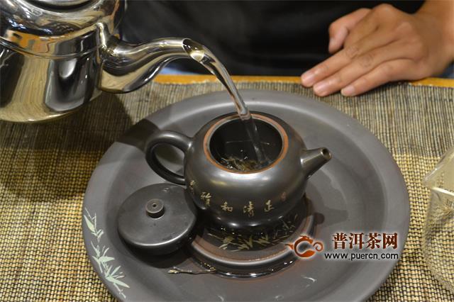 茶艺冲泡流程