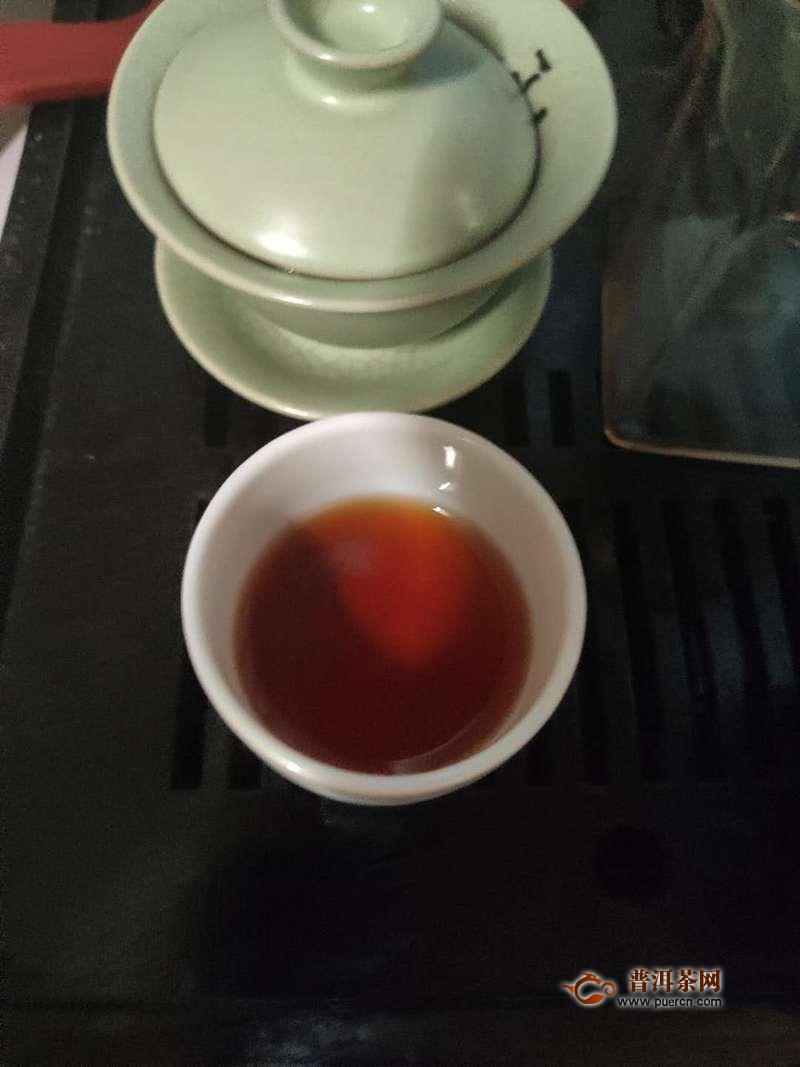 喝茶,我们不将就:2019年老爷说不将就小青柑小罐60克试用报告