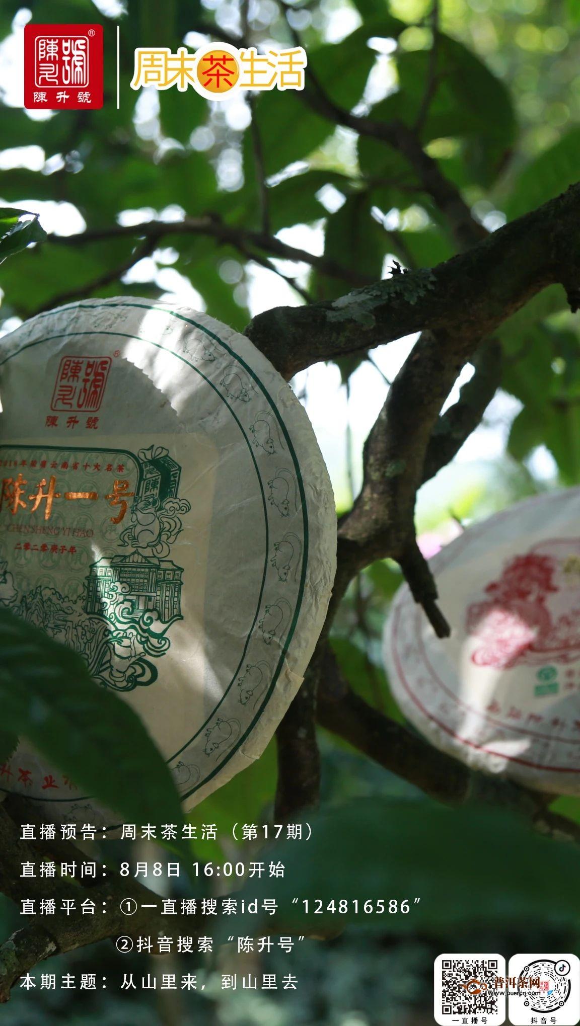 陈升号周末茶生活(第17期)