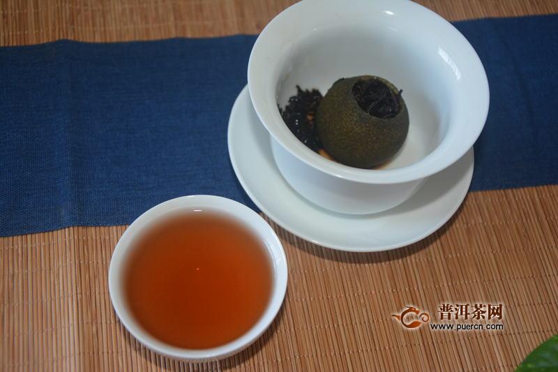 """2020小青柑盛夏""""狂欢节""""——2019老爷说不将就新会小青柑普洱茶品饮报告"""
