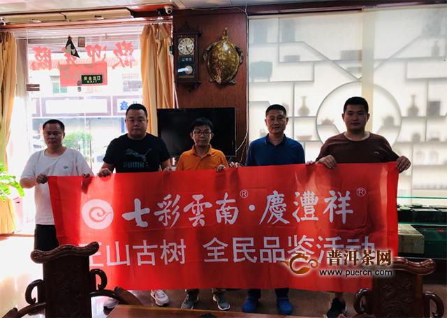 七彩云南庆沣祥全民品鉴会,好茶继续热力不减