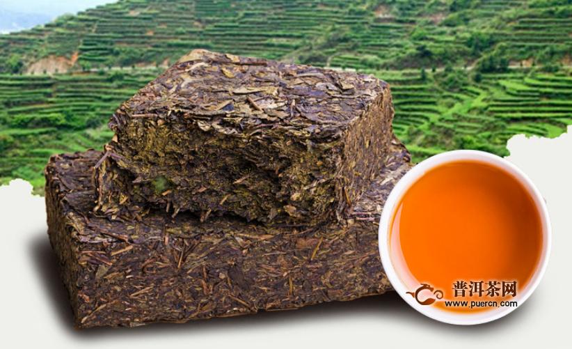 黑茶与中药之间的关系