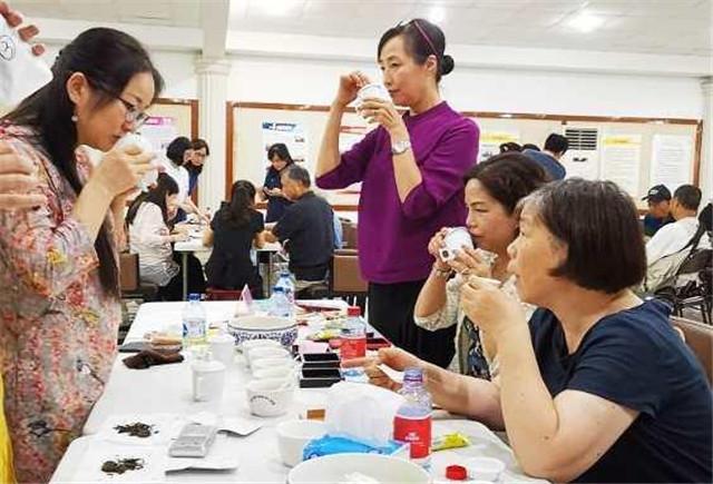 2020年首场上海市普洱茶品鉴会举行