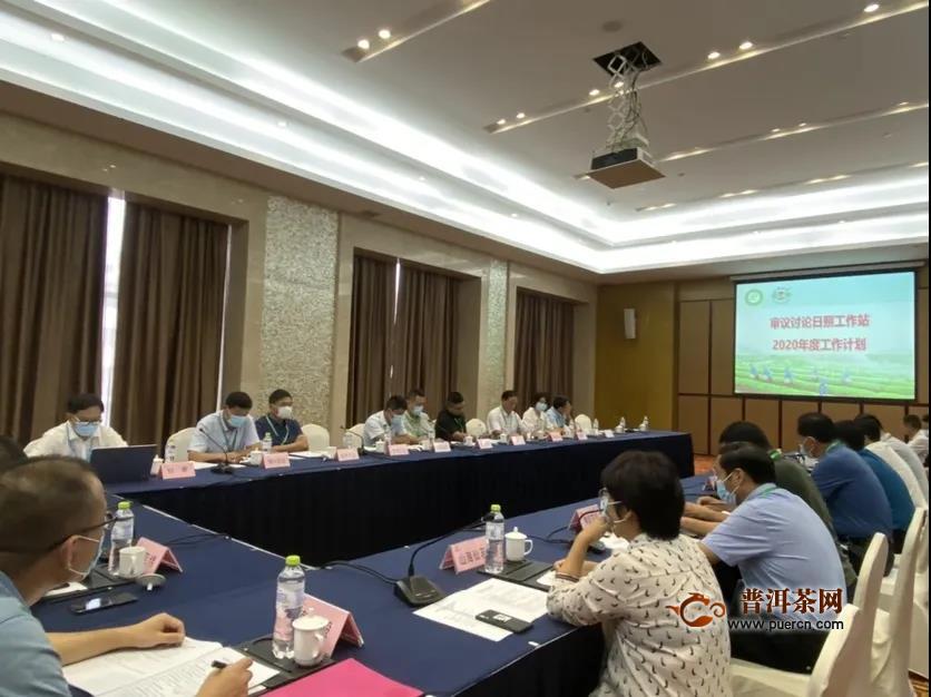 中国茶叶流通协会日照工作站成立