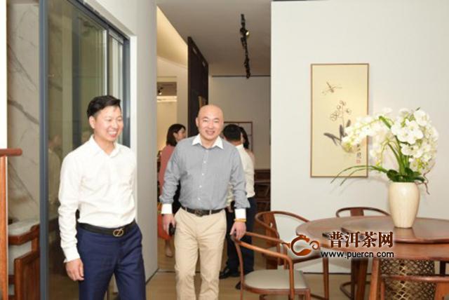 对印茶局牵手斯可馨中式家居,打造家庭茶生活空间