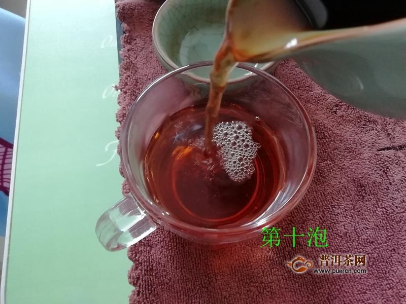 """秋高气爽品""""拾岁"""",一款有意思的岁月茶:2020年书院熟茶拾岁熟茶60克试用报告"""