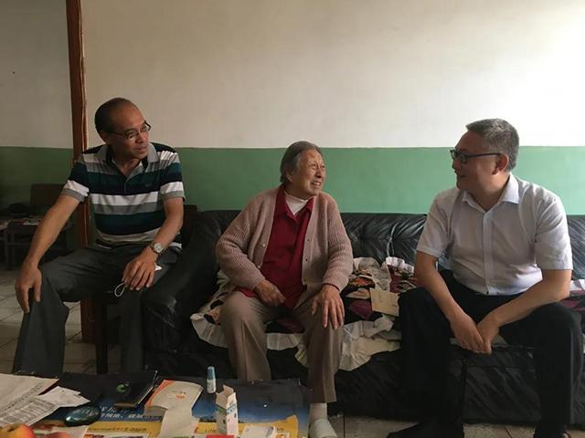 致敬中茶云南公司党委走访慰问抗日战争时期参加革命工作的老同志