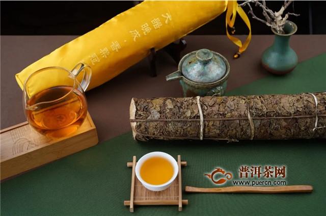 六大茶山易武金箔,能喝的金叶子香柔冠绝