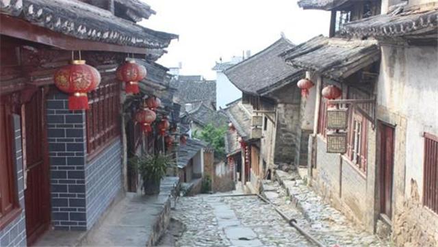 茶马古道上的云南凤庆鲁史古镇