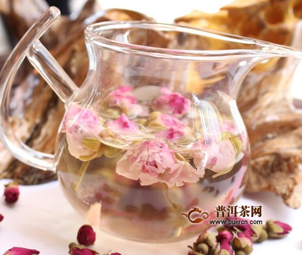 喝一月玫瑰花茶正常瘦多少