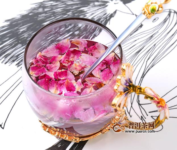 玫瑰花茶喝了能减肥是不是