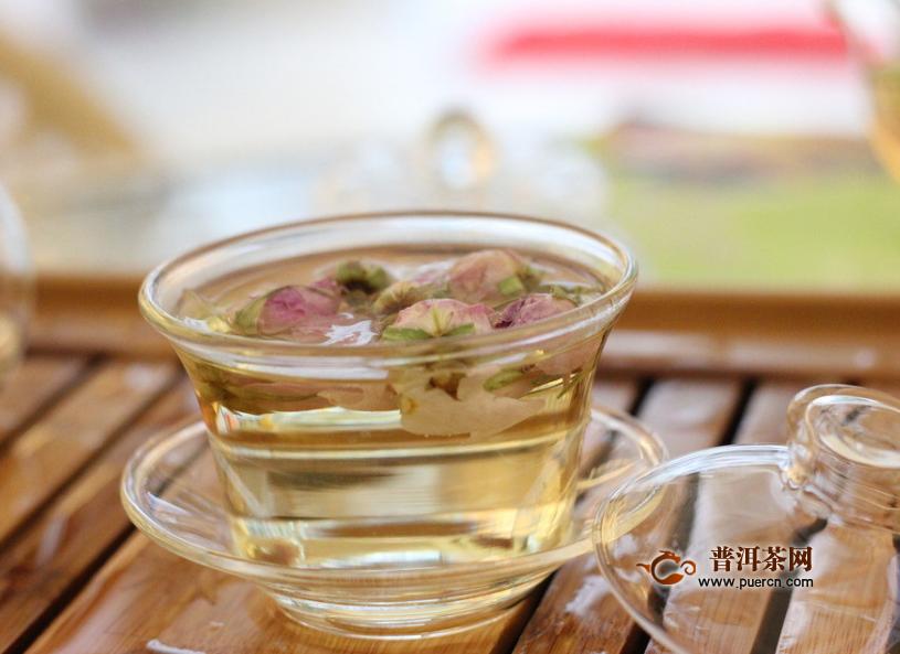 祛斑后可以喝玫瑰花茶吗