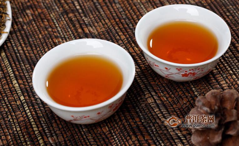 饮用滇红茶的功效及作用