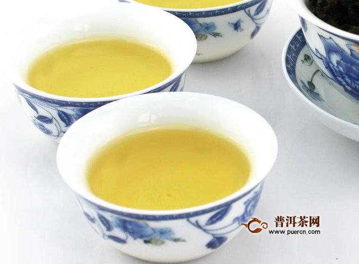 饮用台湾冻顶乌龙茶的功效